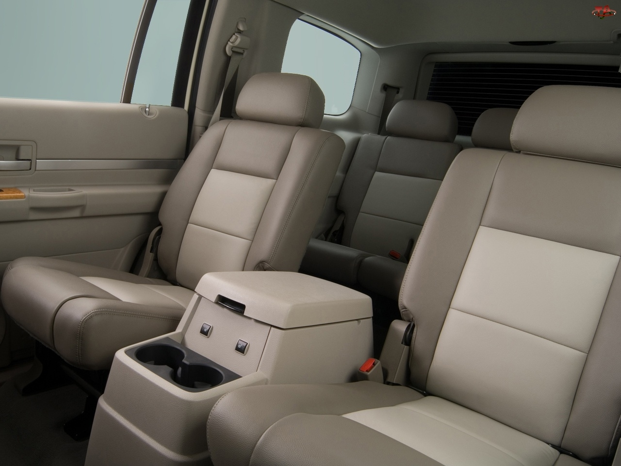 Fotele, Chrysler Aspen, Tylne