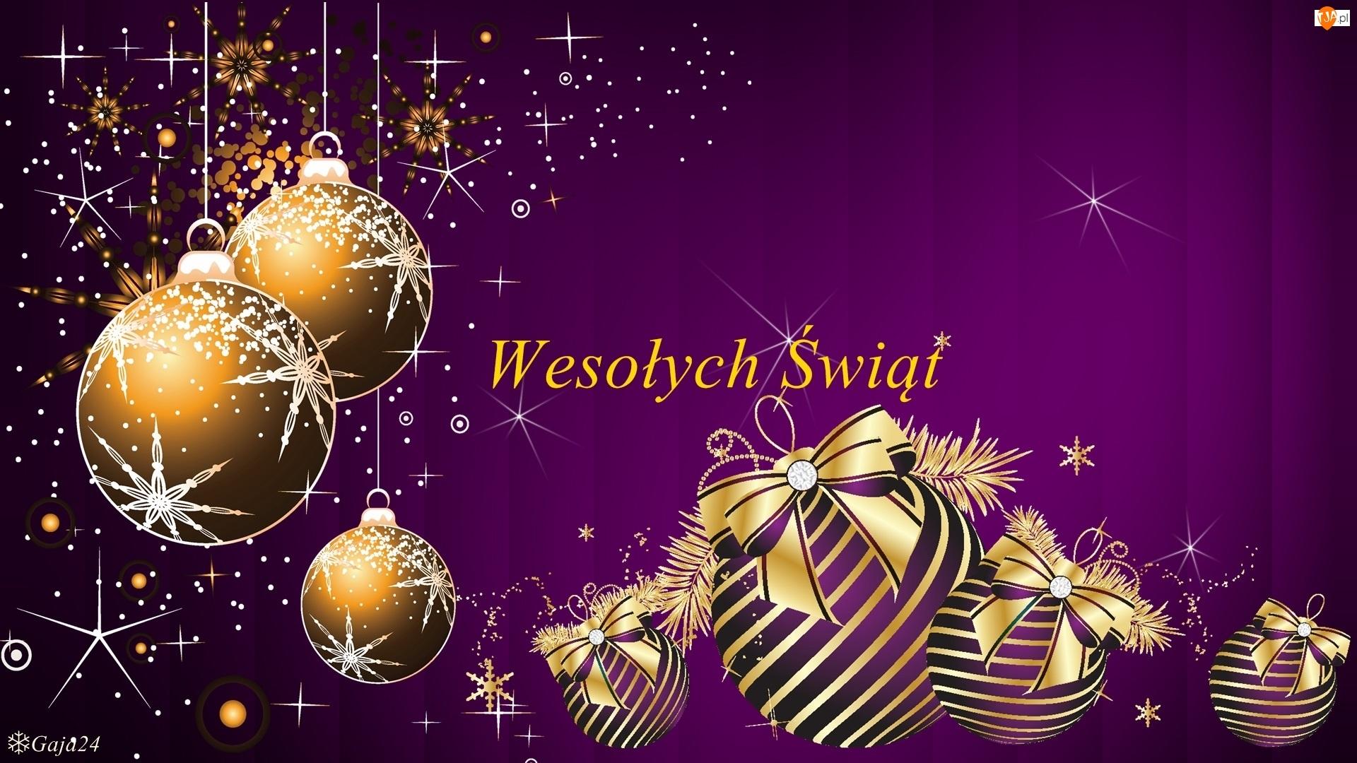 Bombki, Boże Narodzenie, Świąteczne, Życzenia