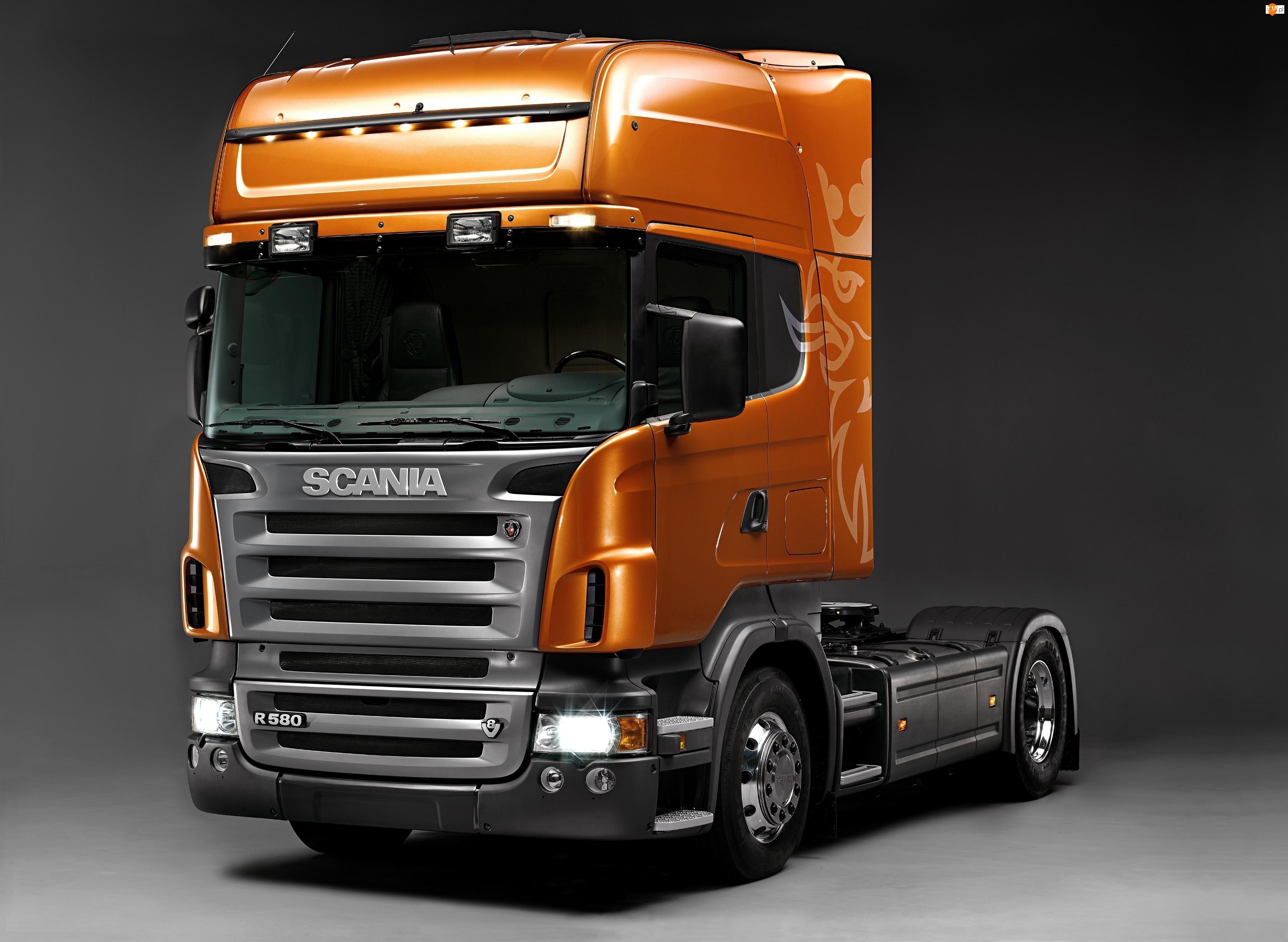 Ciągnik siodłowy, Ciężarówka, Scania R 580
