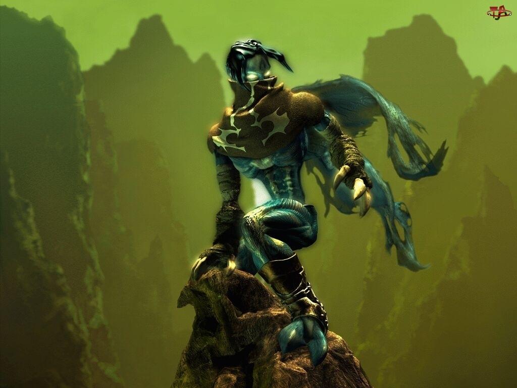 chusta, Legacy Of Kain Soul Reaver, potwór, postać, peleryna