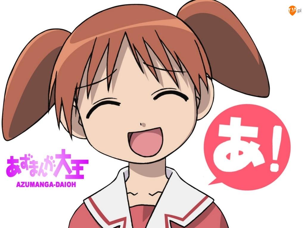dziewczyna, Azumanga Daioh, mundurek