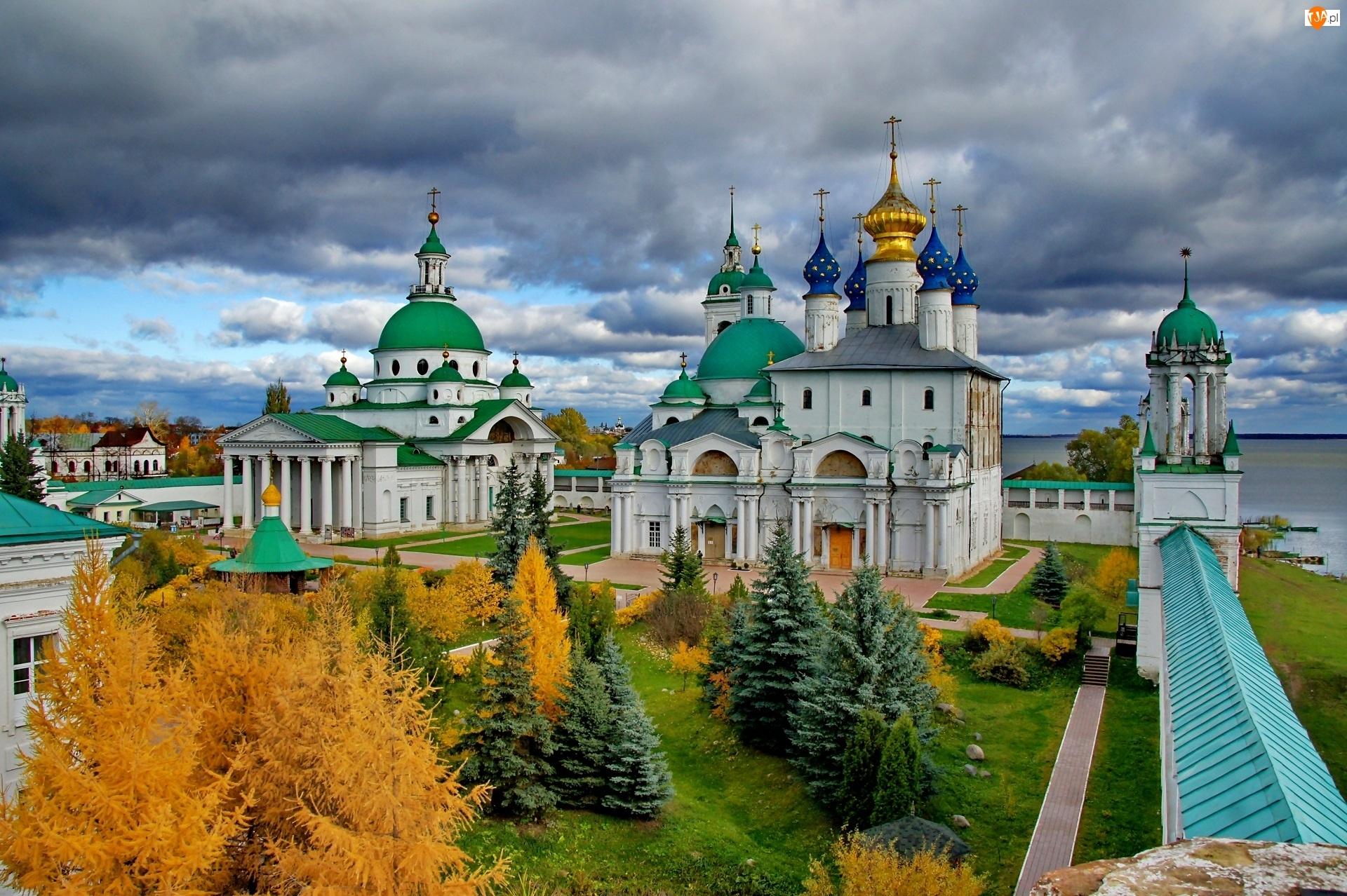 Monaster Przemienienia Pańskiego i św Jakuba, Cerkwie, Rostów, Rosja, Klasztor, Obwód jarosławski