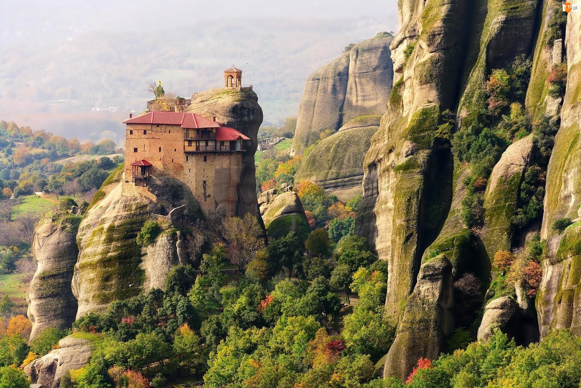 Grecja, Klasztor, Skały
