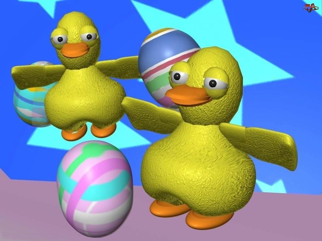 pisanki, Wielkanoc, kurczaczki