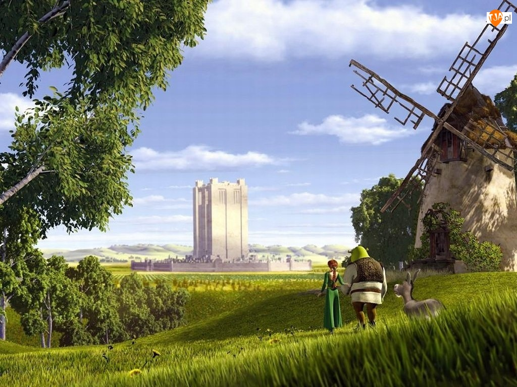 wiatrak, Shrek 1, stary