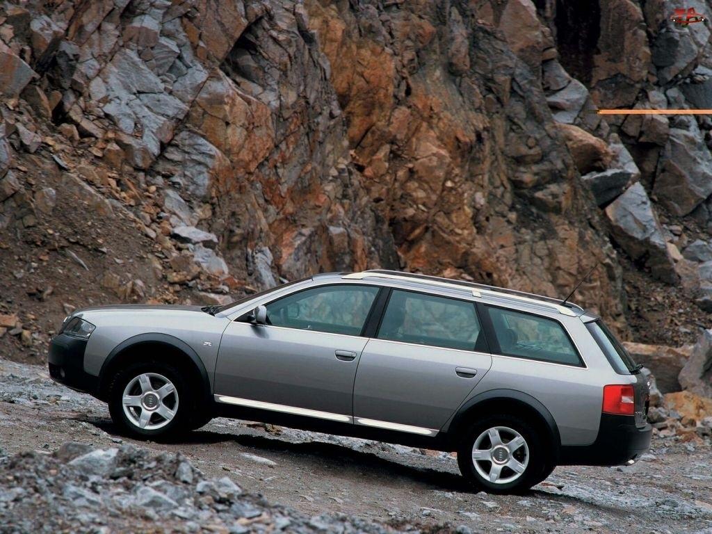 Lewy Profil, Srebrne, Audi Allroad