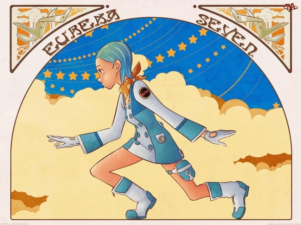 mundurek, Eureka 7, dziewczyna