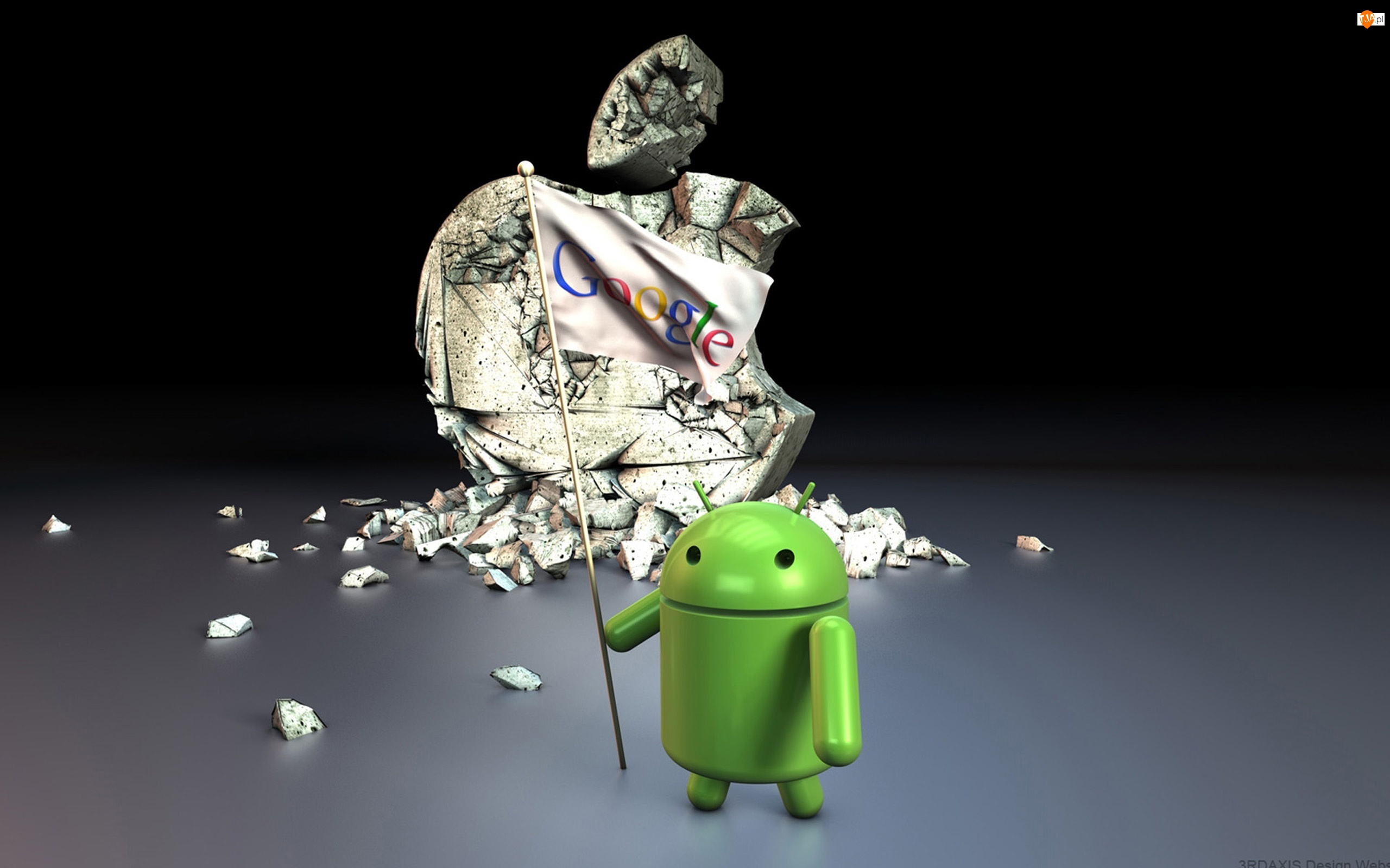 3D, Android, Apple