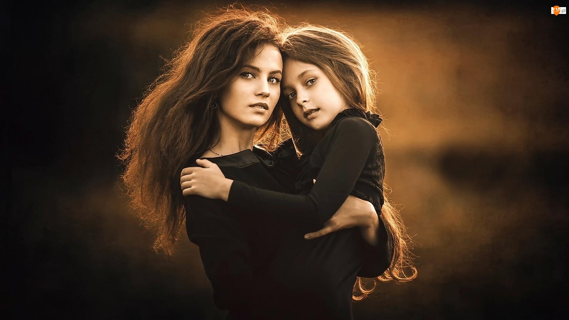 Matka, Kobieta, Córka, Dziewczynka