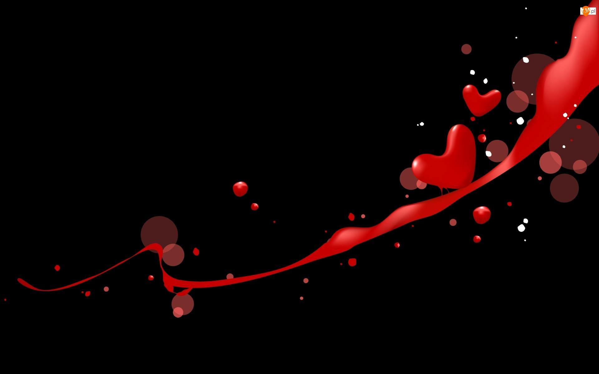 Kropki, Walentynki, Serca