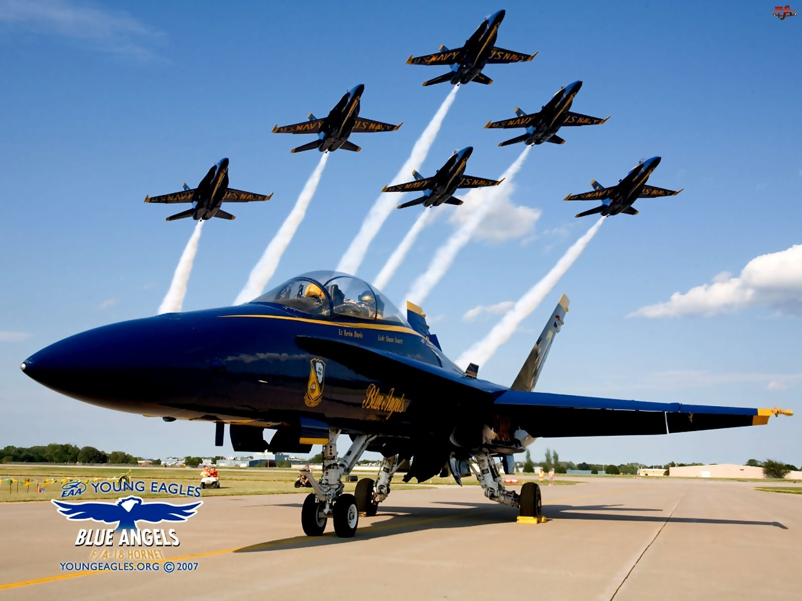 F/A-18, Blue Angels, Boeing