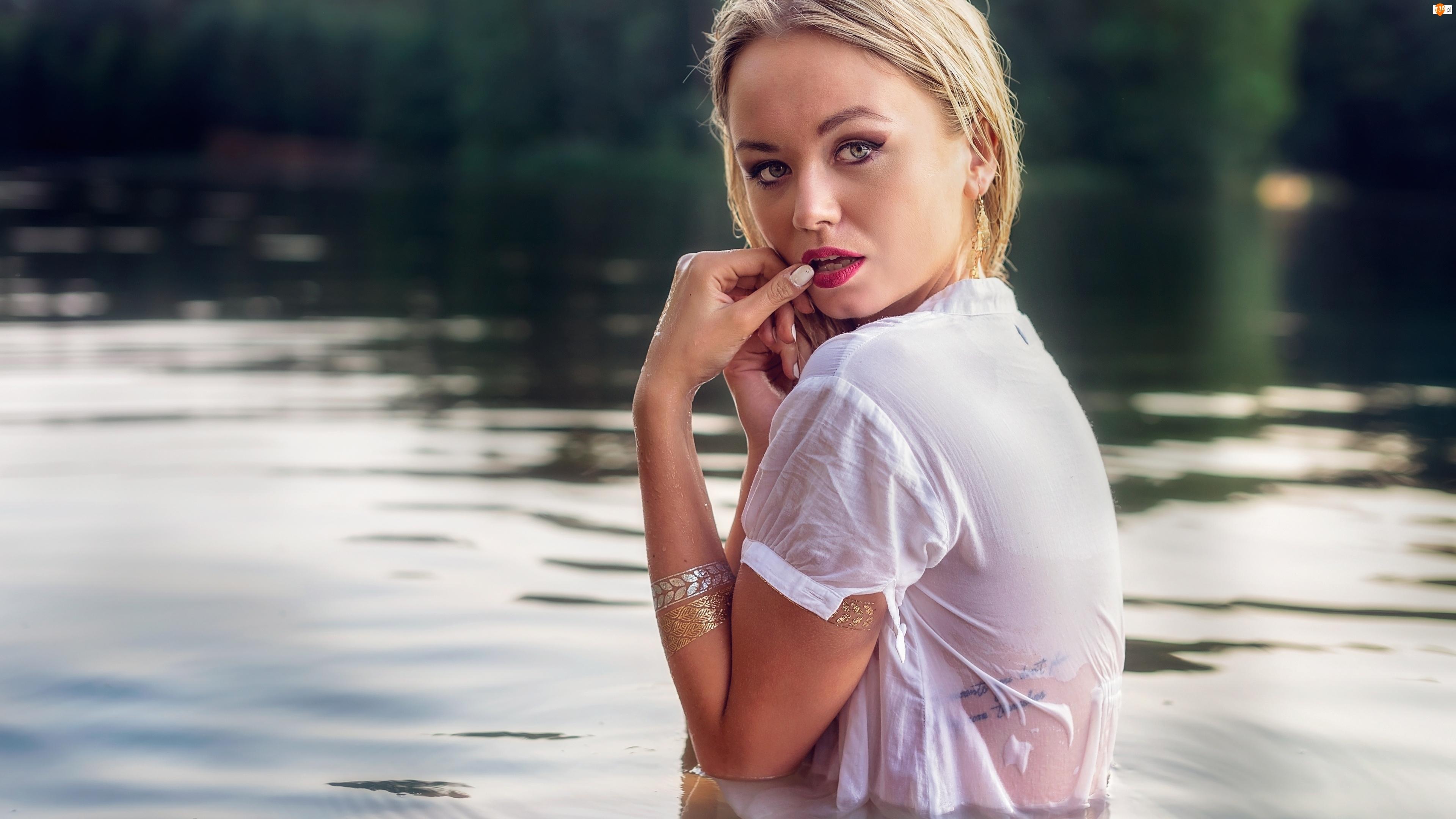 Tatuaż, Kobieta, Woda
