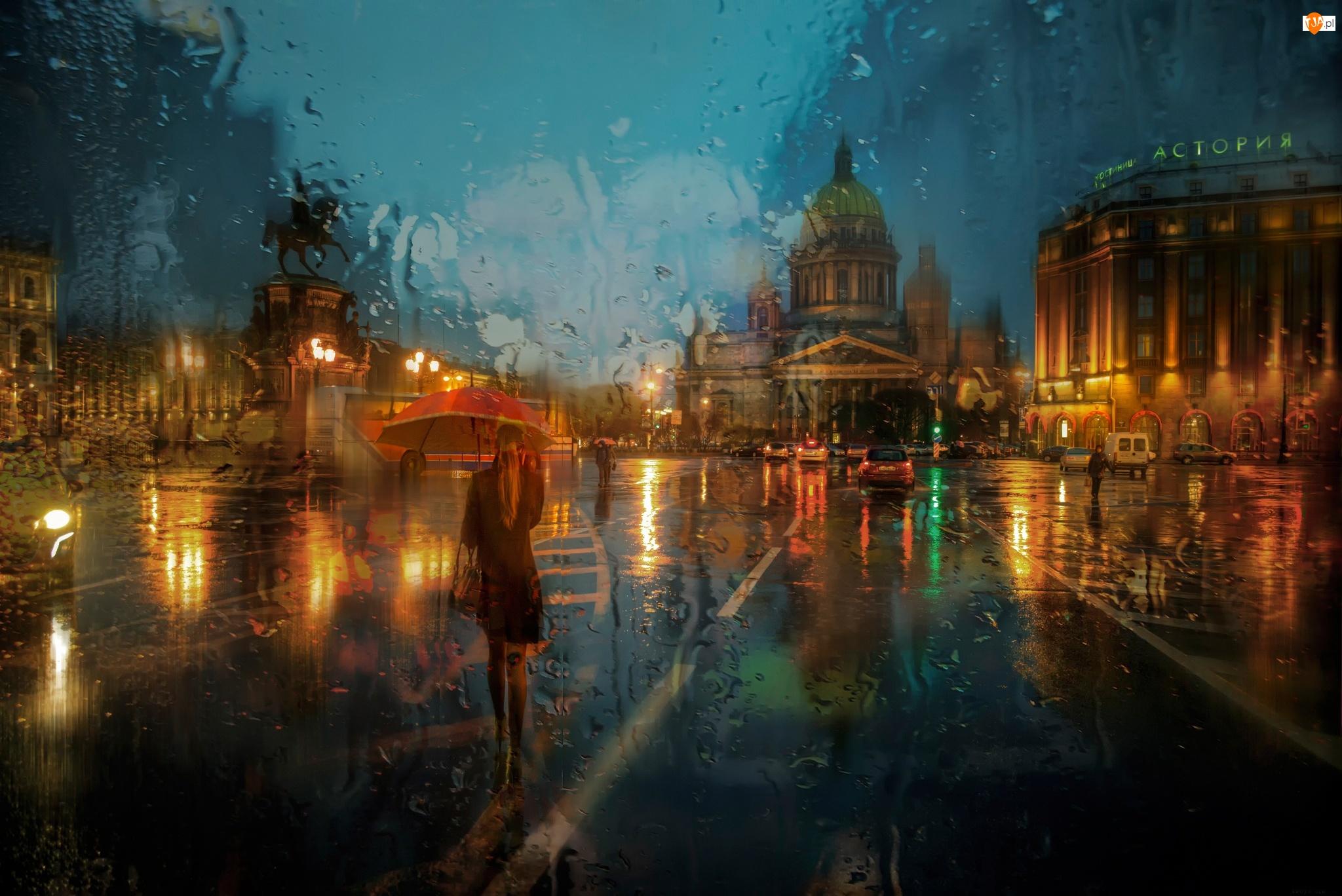 Deszcz, Rosja, ST. Petersburg