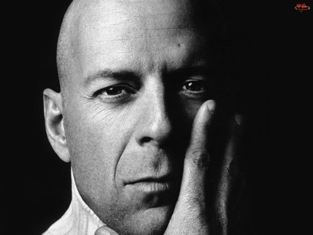 ręka, Bruce Willis, głowa