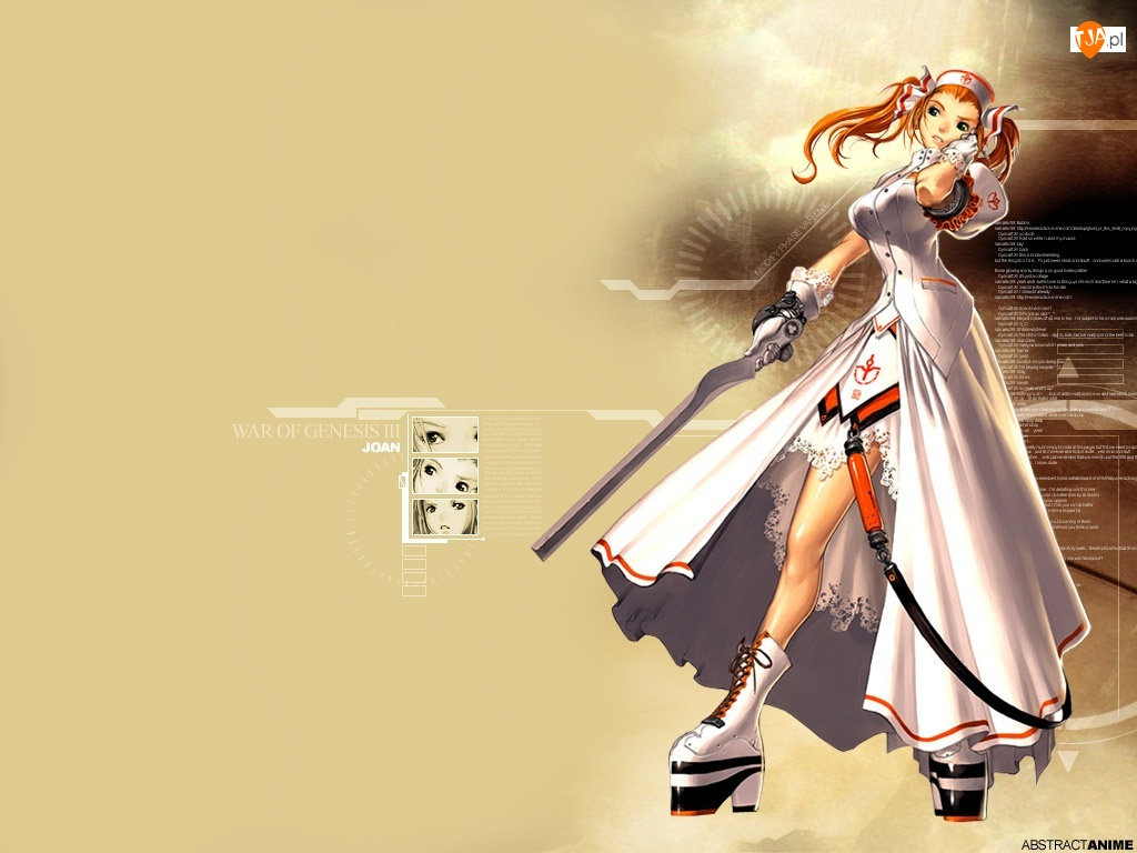 The War Of Genesis 3, kobieta, wojownik
