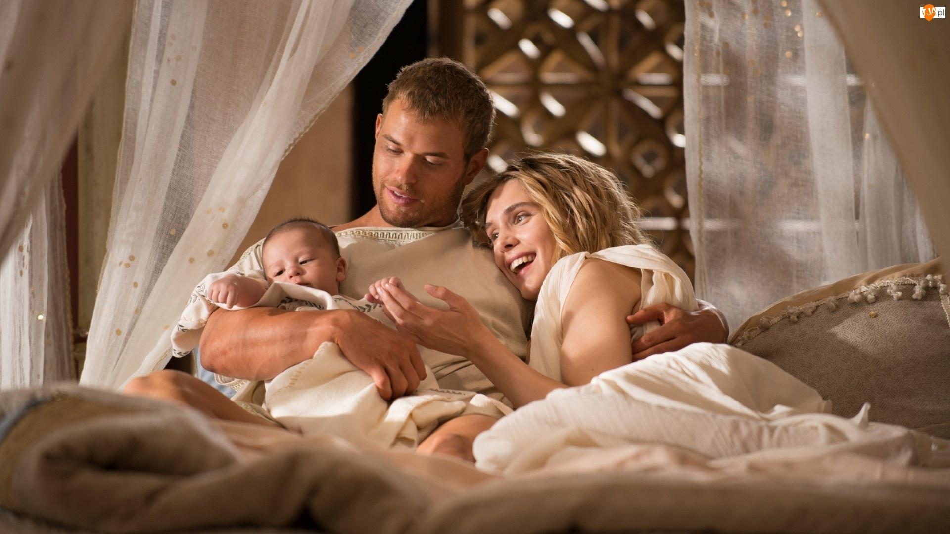 Wnętrze, Kobieta, Dziecko, Mężczyzna, Rodzina