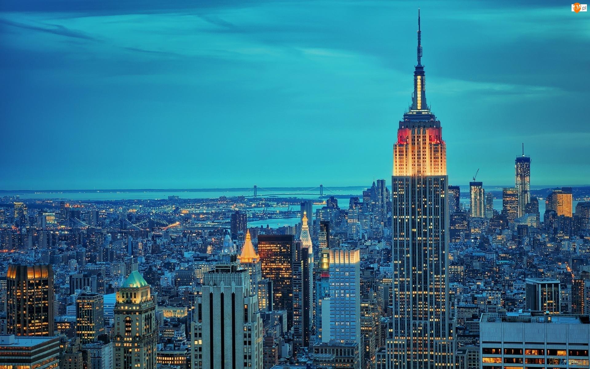Empire State Building, Stany Zjednoczone, Drapacze Chmur, Nowy Jork