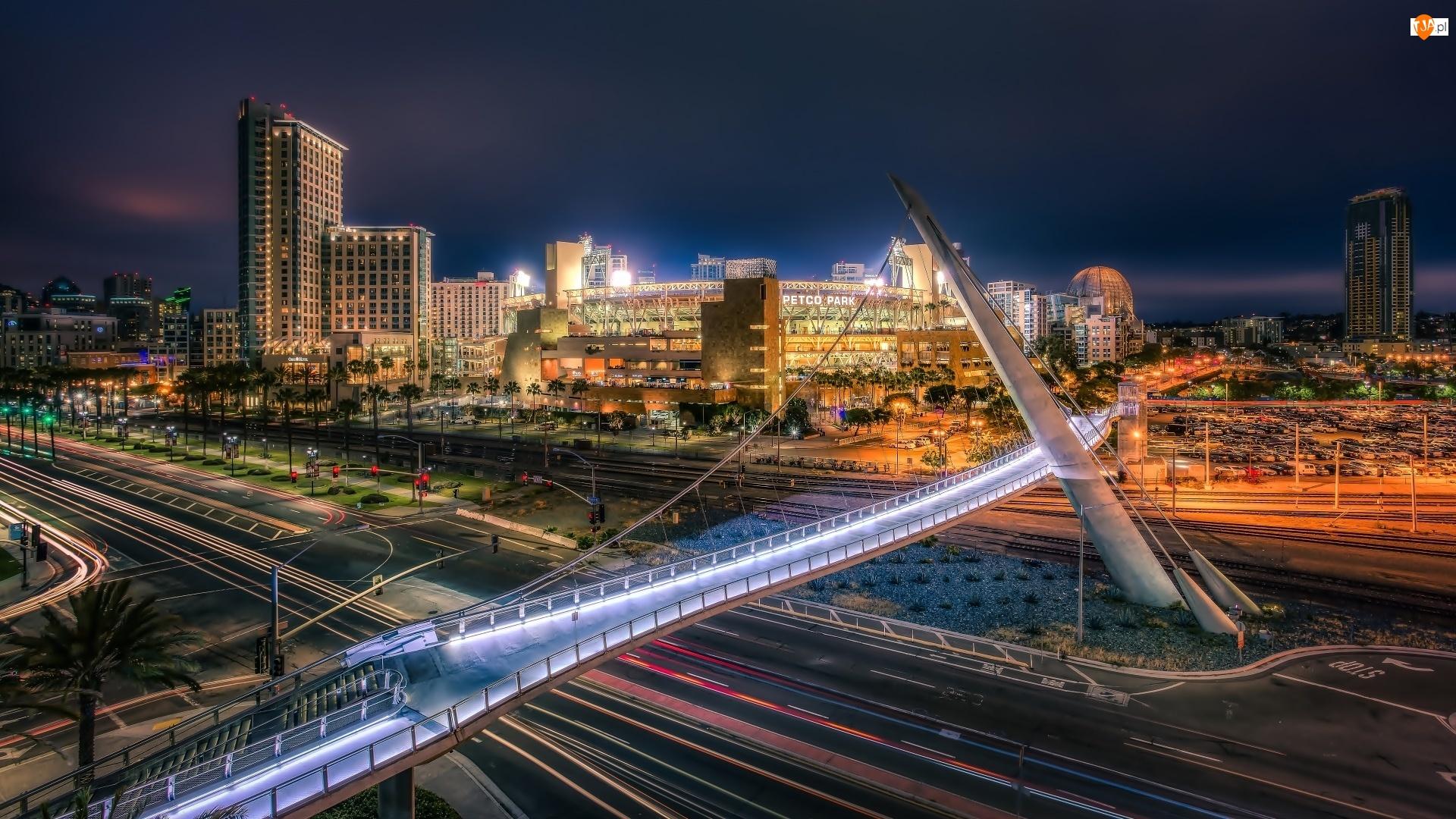Panorama Miasta, Petco Park, Baseballowy, Stadion, San Diego
