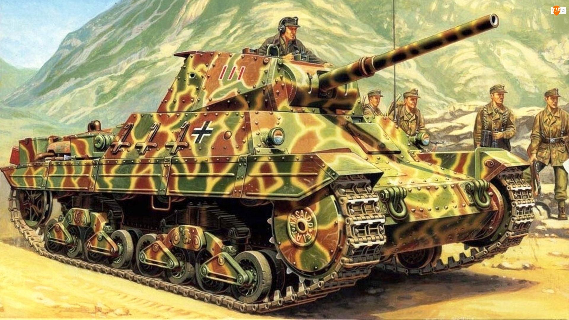 Czołg, Żołnierze
