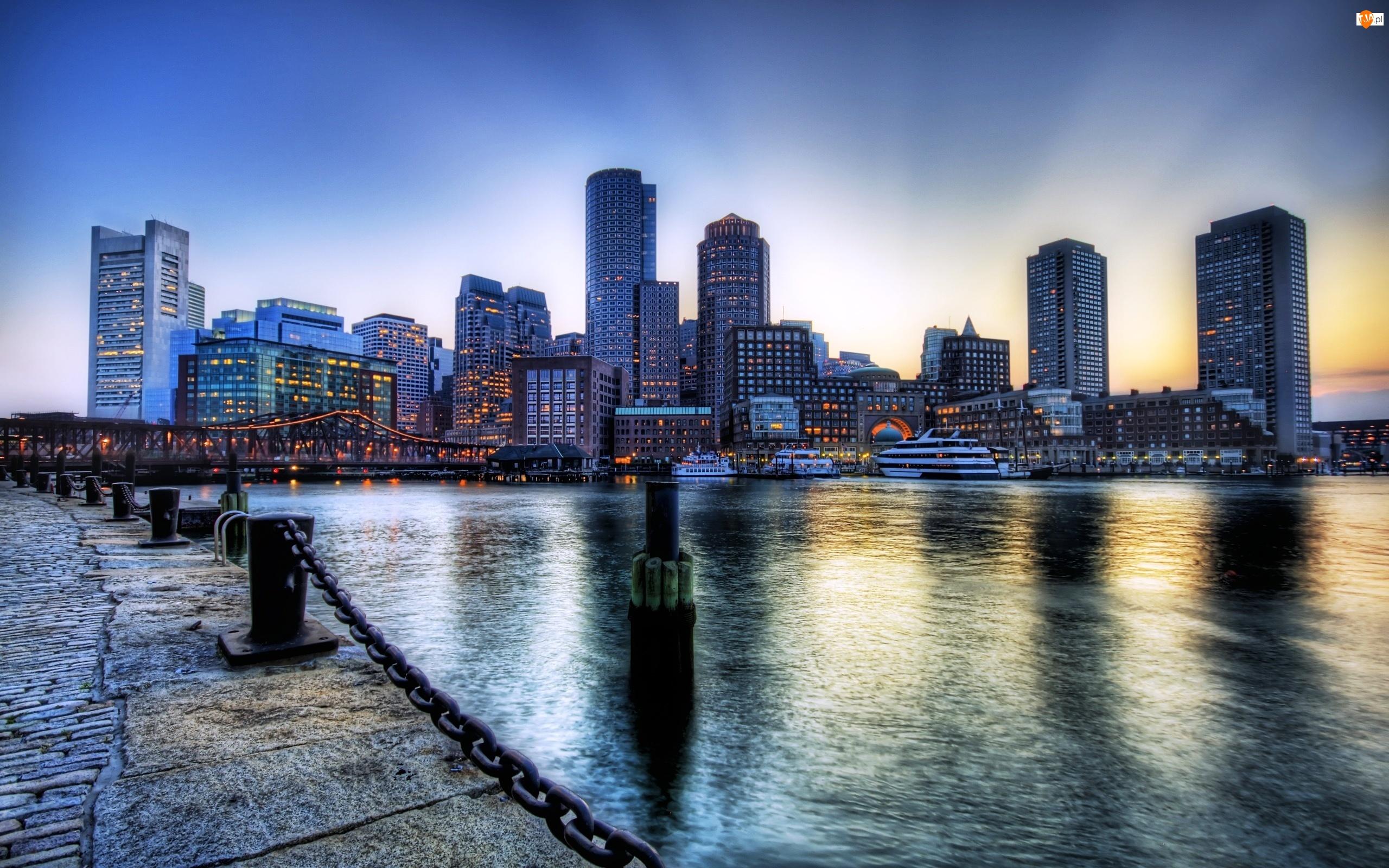 Boston, Port, Panorama