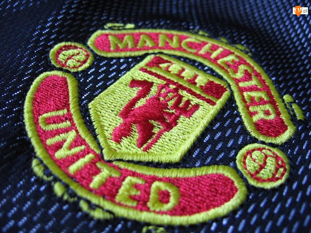 Manchester United, Naszywka, Złoty, Herb