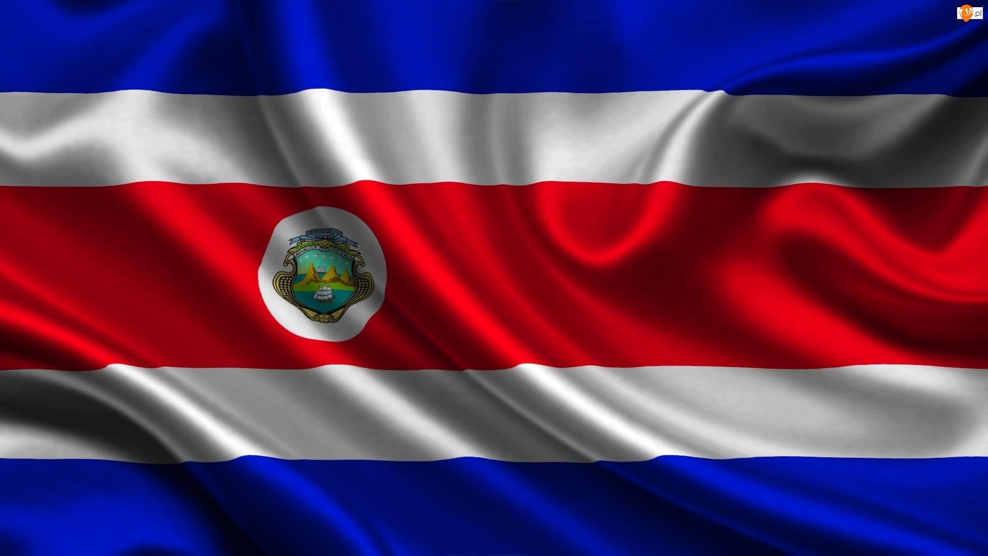 Flaga, Kostaryka