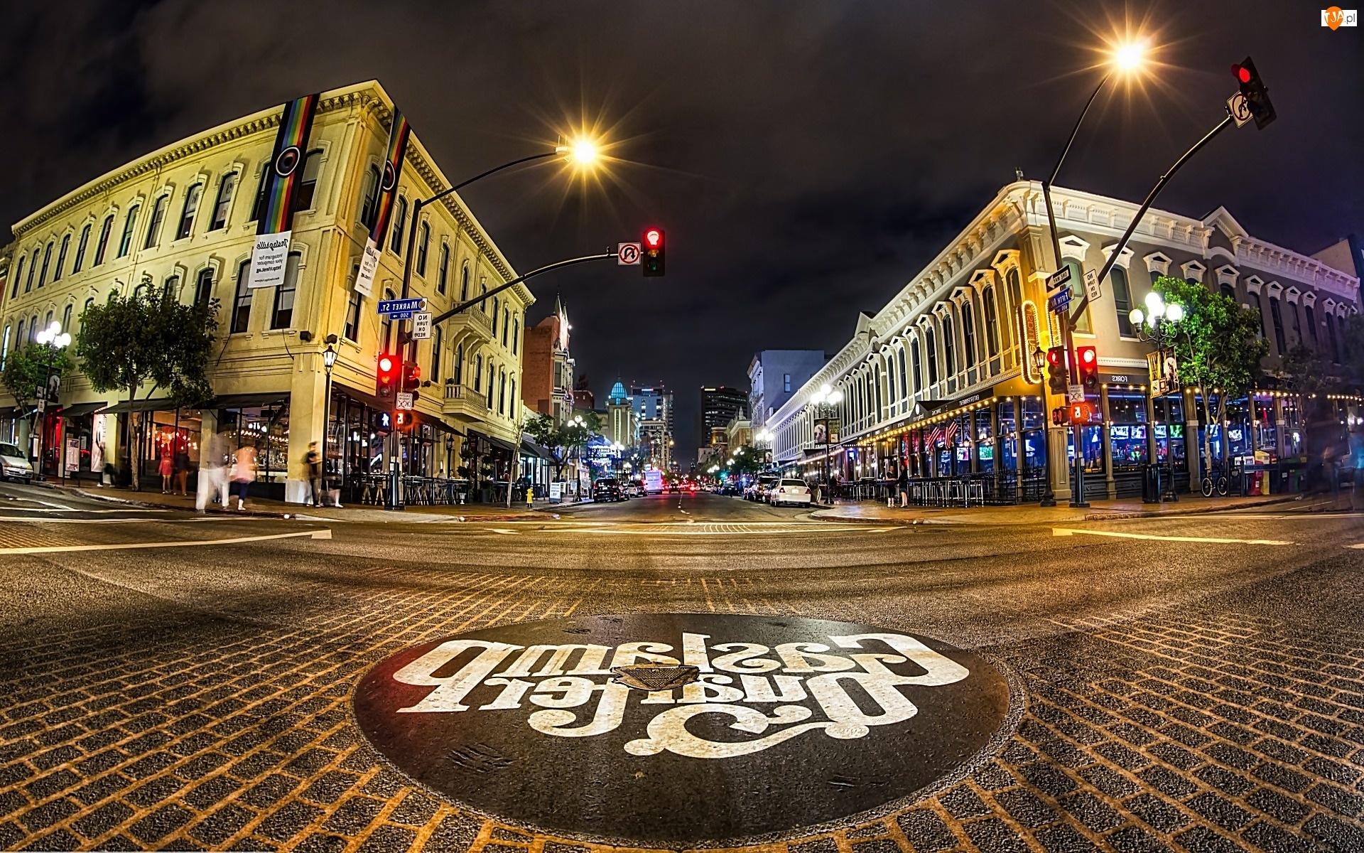 Miasto Nocą, San Diego