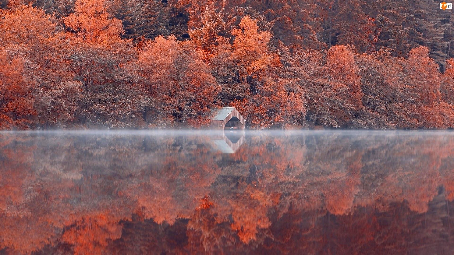 Jezioro, Domek