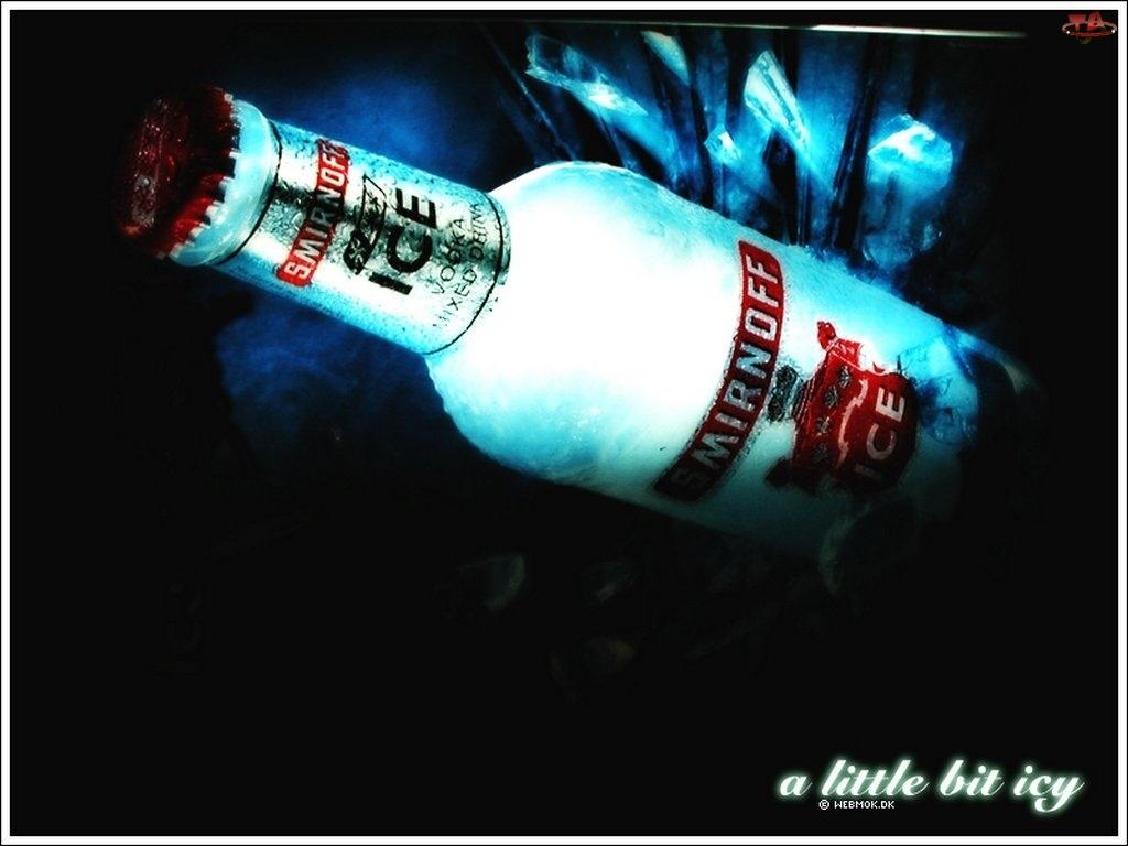 butelka, Vodka, Smirnoff Ice