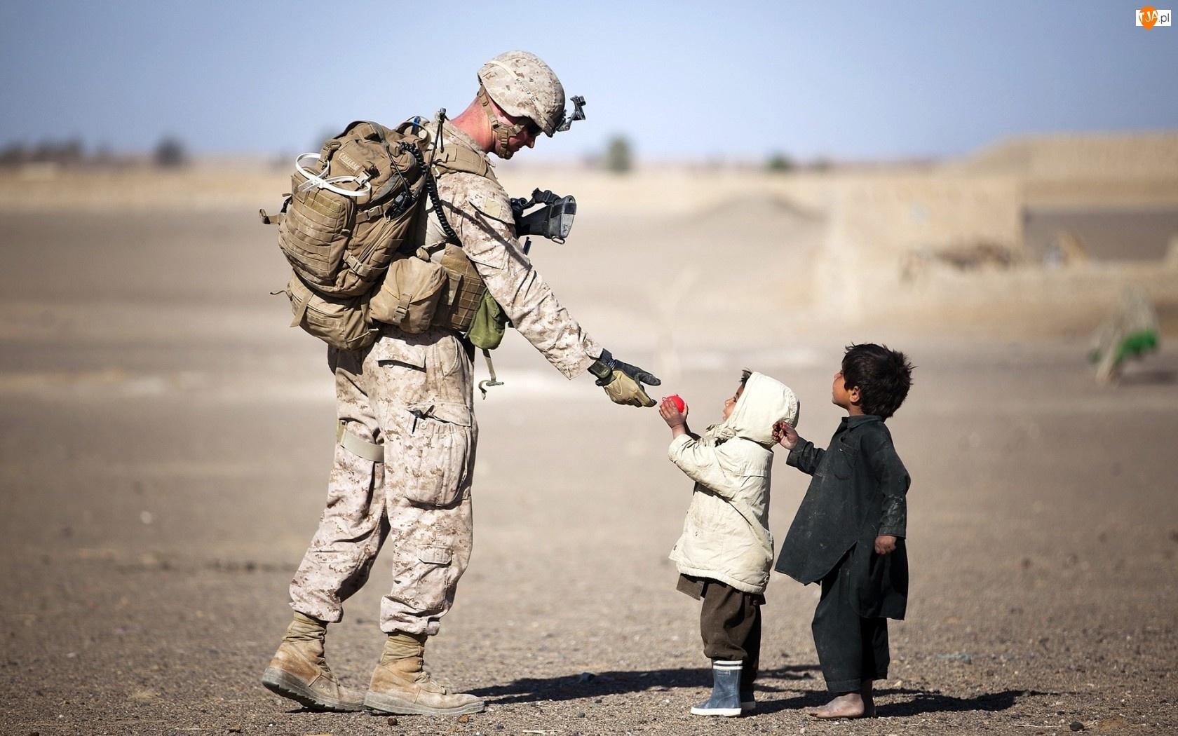 Żołnierz, Dzieci