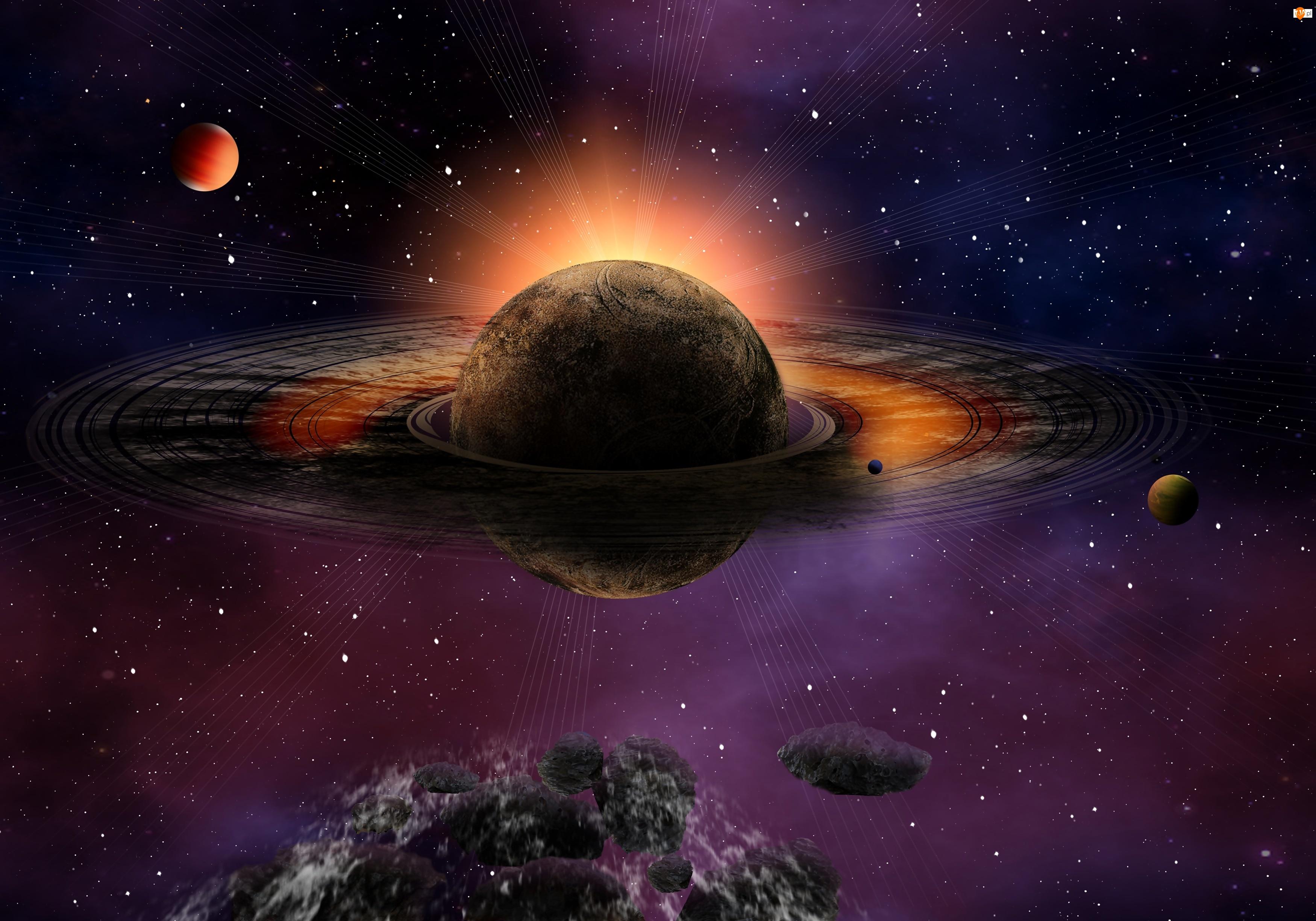 Planety, Kosmos, 3D