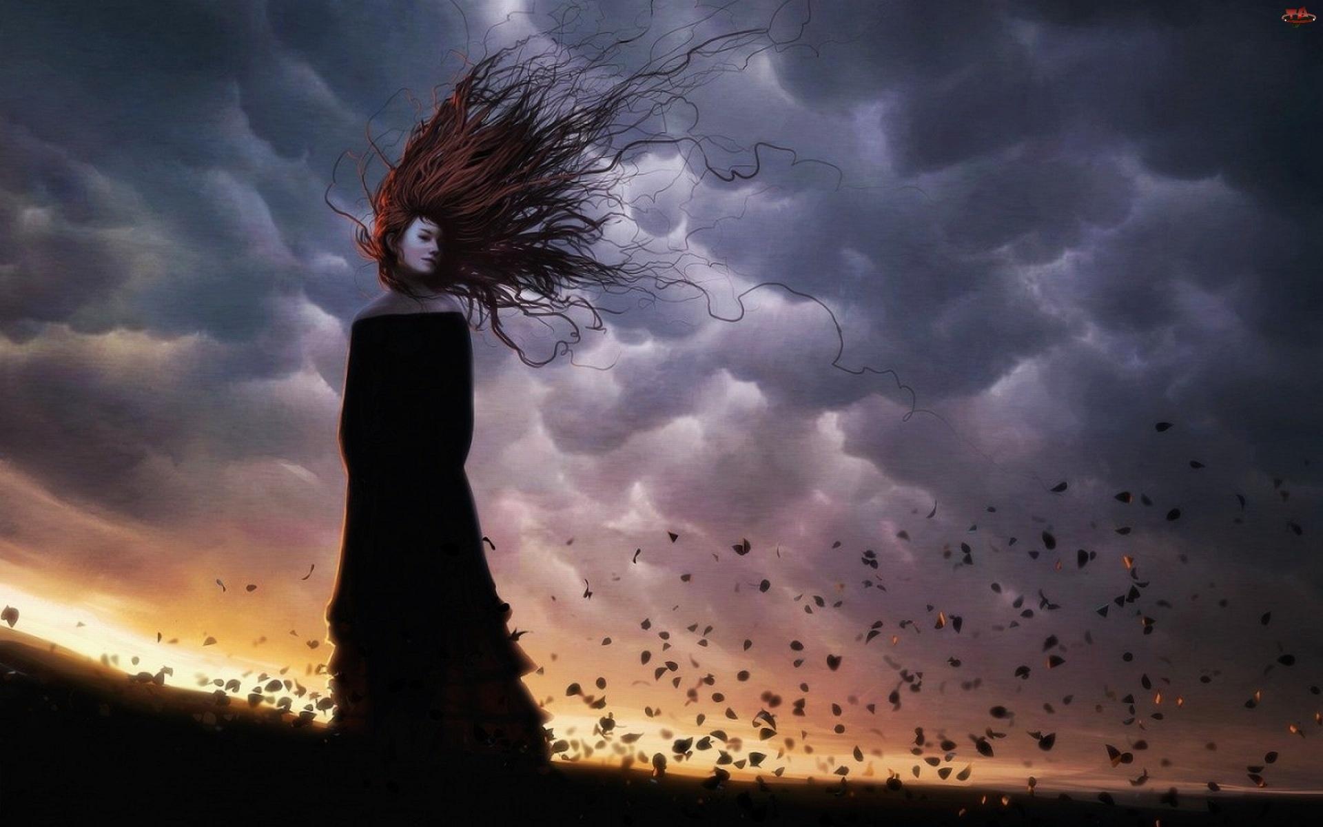 Kobieta, Wiatr