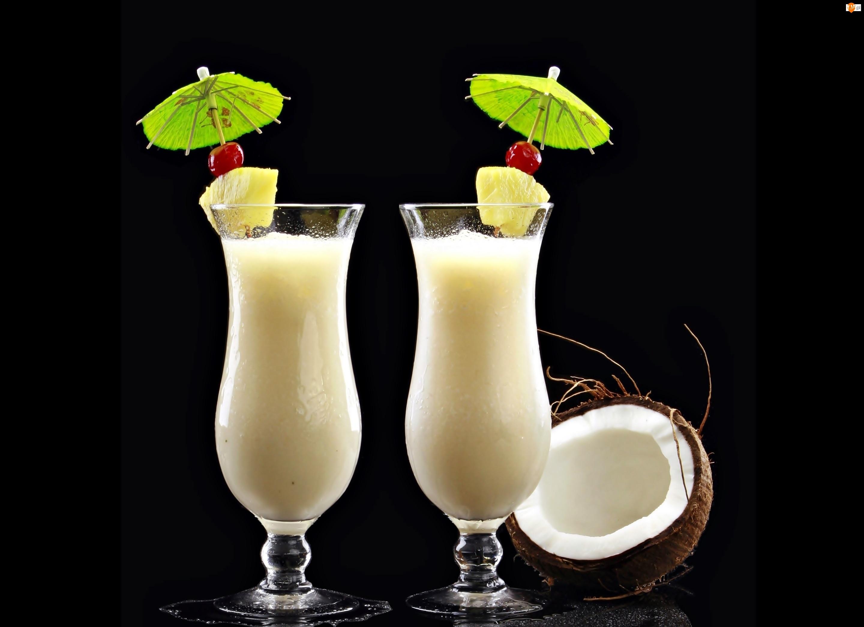 Kokosowe, Drinki