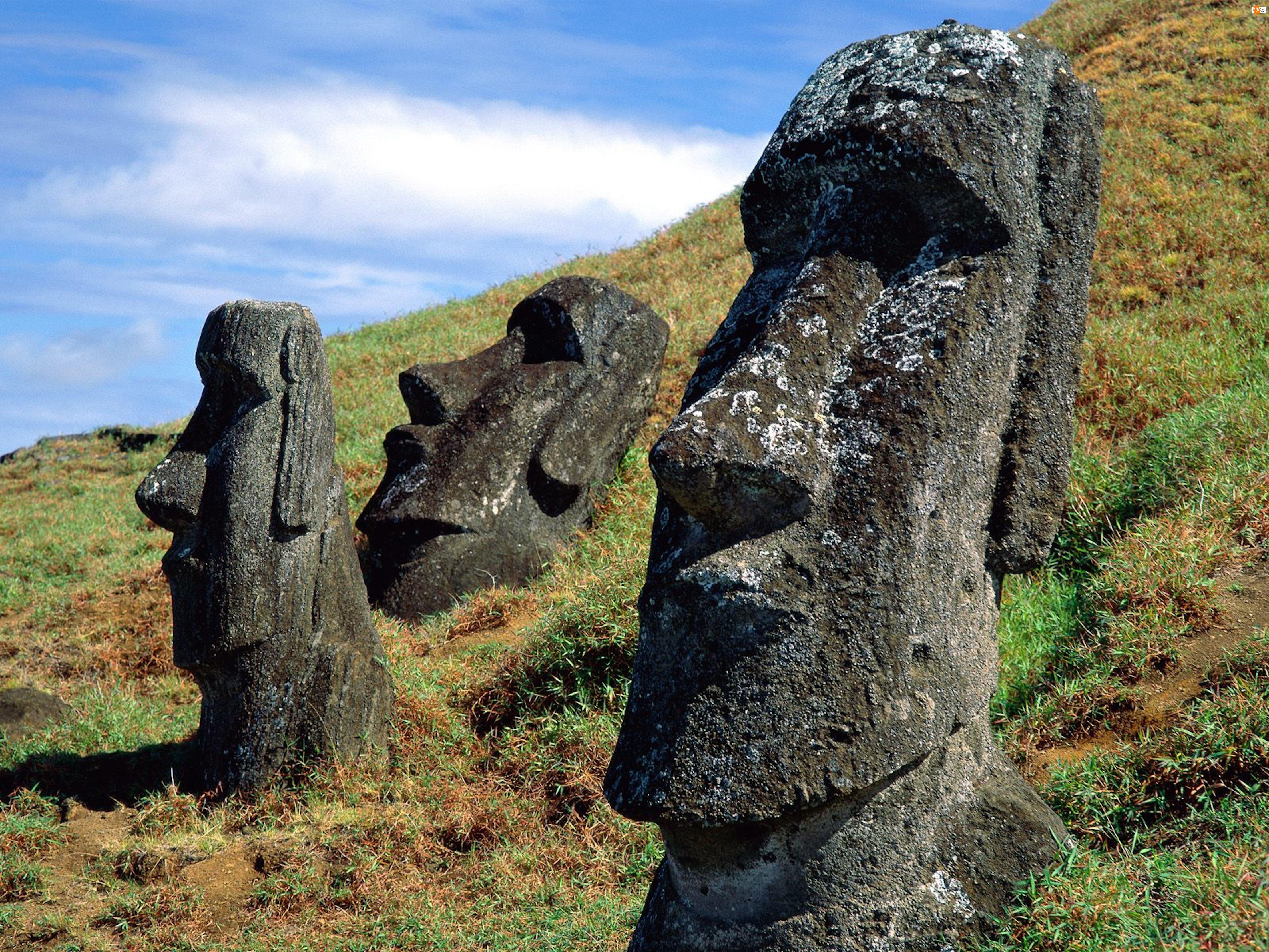 Posągi, Wyspa Wielkanocna
