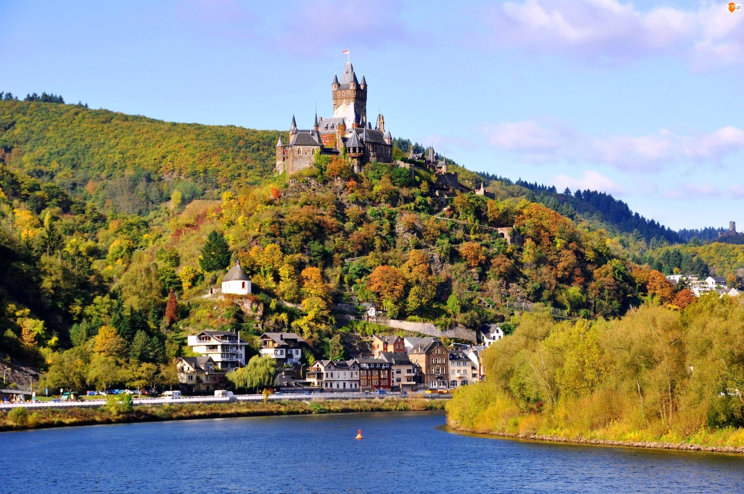 Zamek, Niemcy, Reichsburg, Cochem