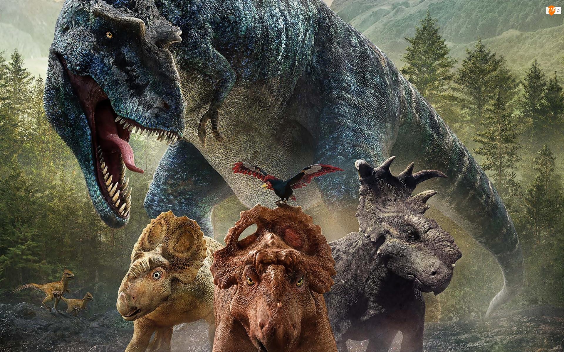 Prehistoryczne, Dinozaury, Zwierzęta