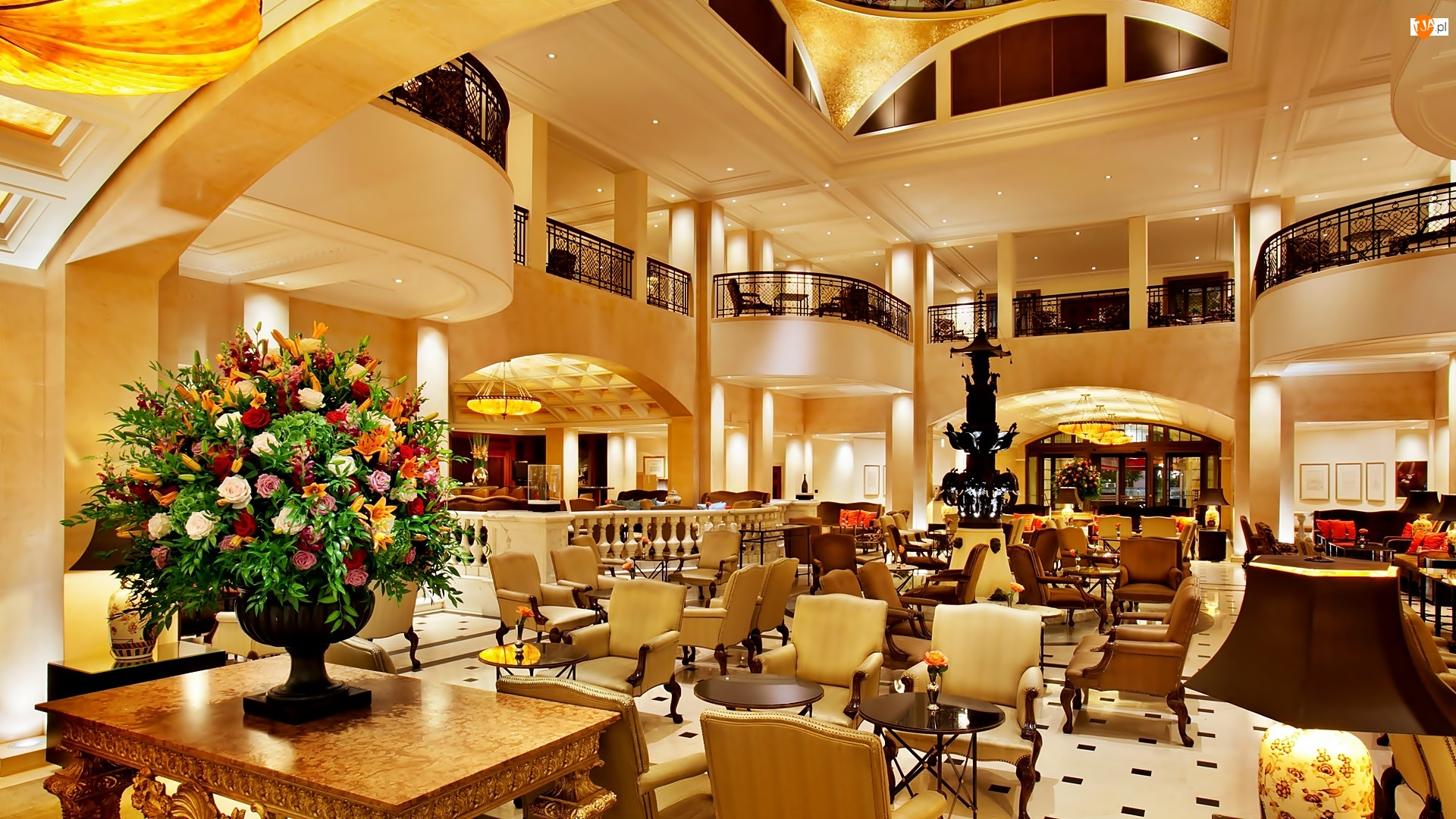 Lobby, Hotel, Adlon
