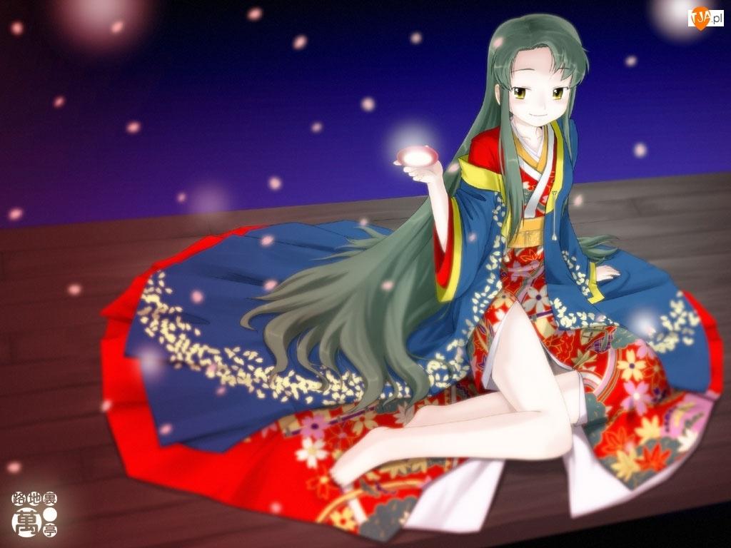 gwiazdy, Suzumiya Haruhi No Yuuutsu, długa suknia