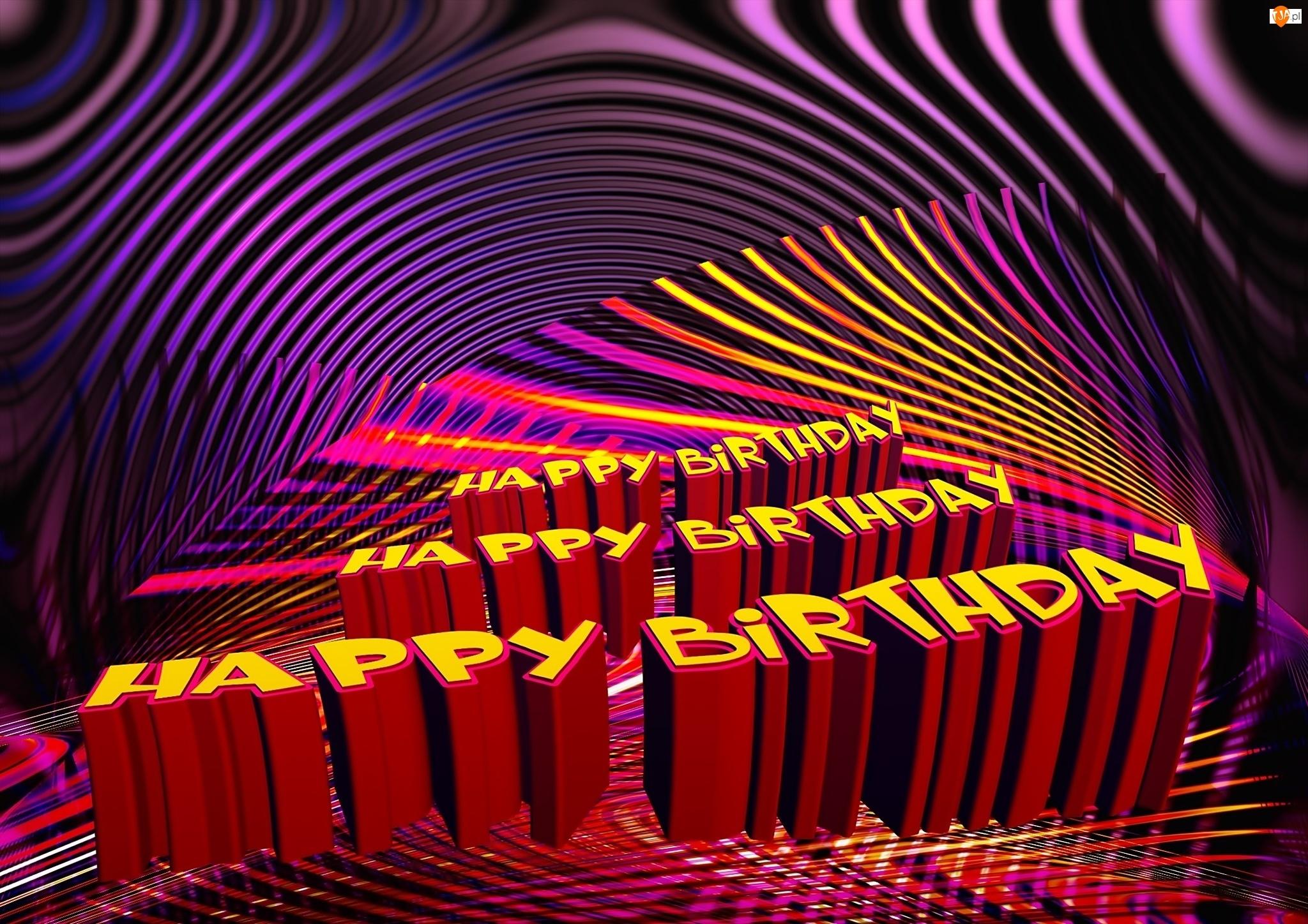 Fraktal, Perspektywa, Urodziny, Napisy