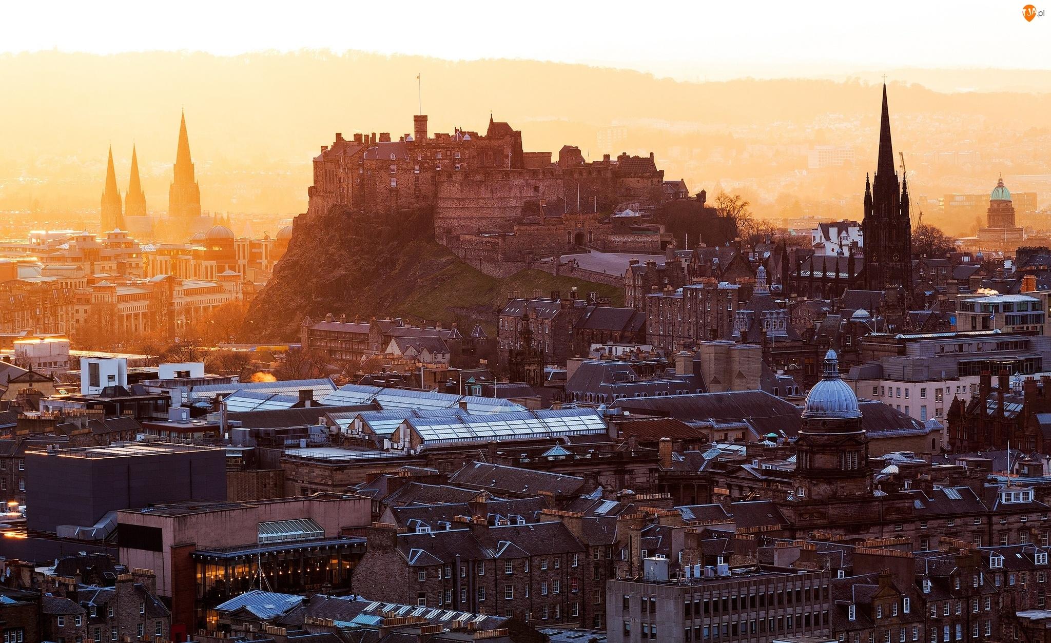 Miasto, Szkocja, Edynburg