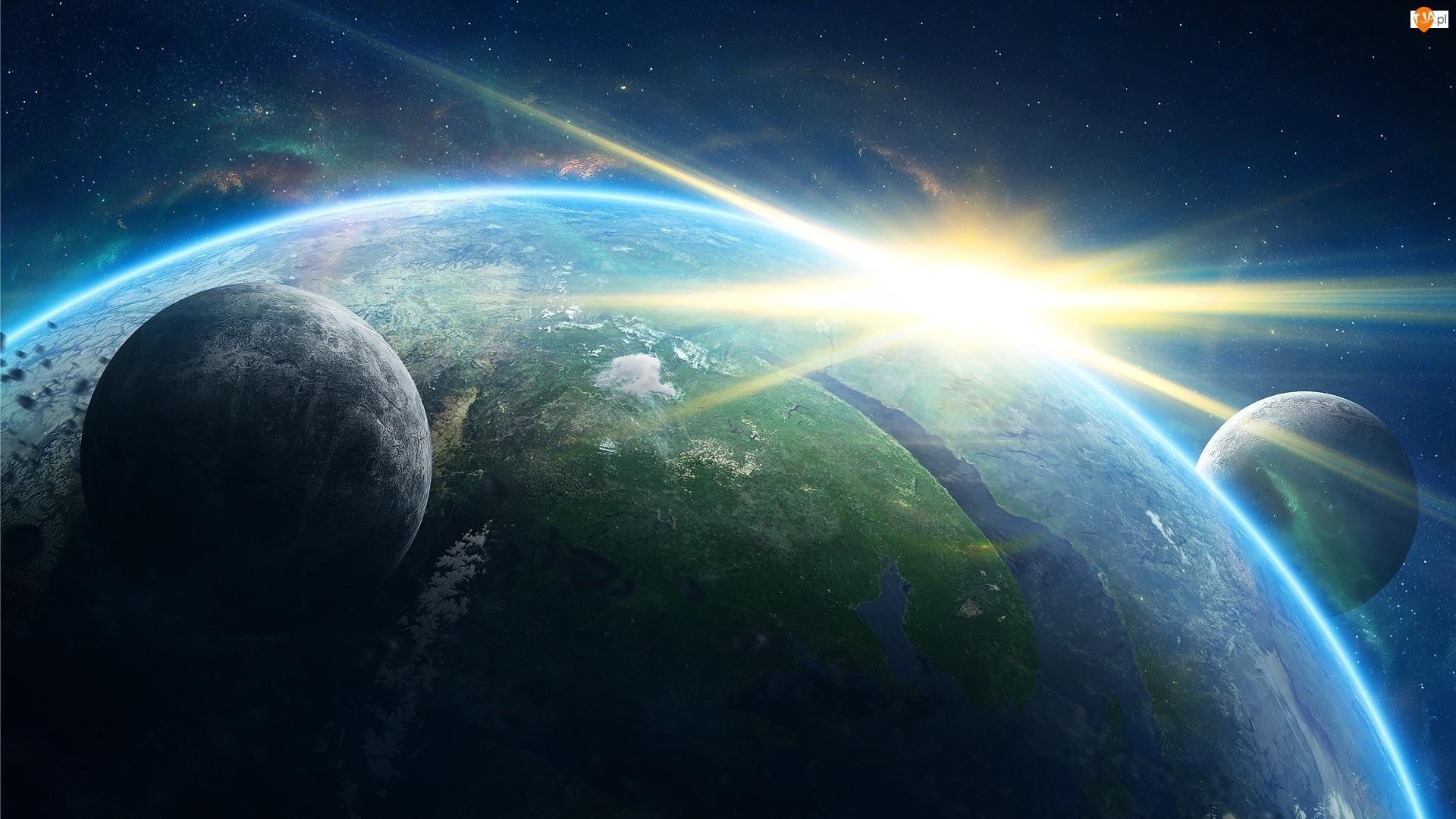 Kosmos, Ziemia, Planety, Gwiazdy