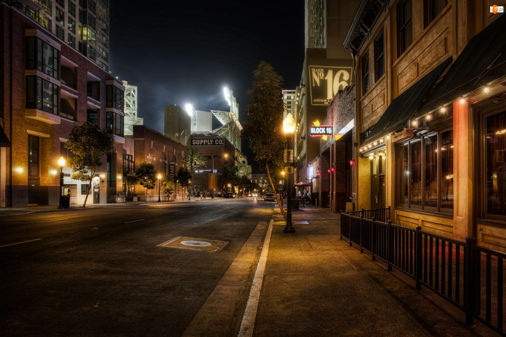 Miasta Nocą, San Diego