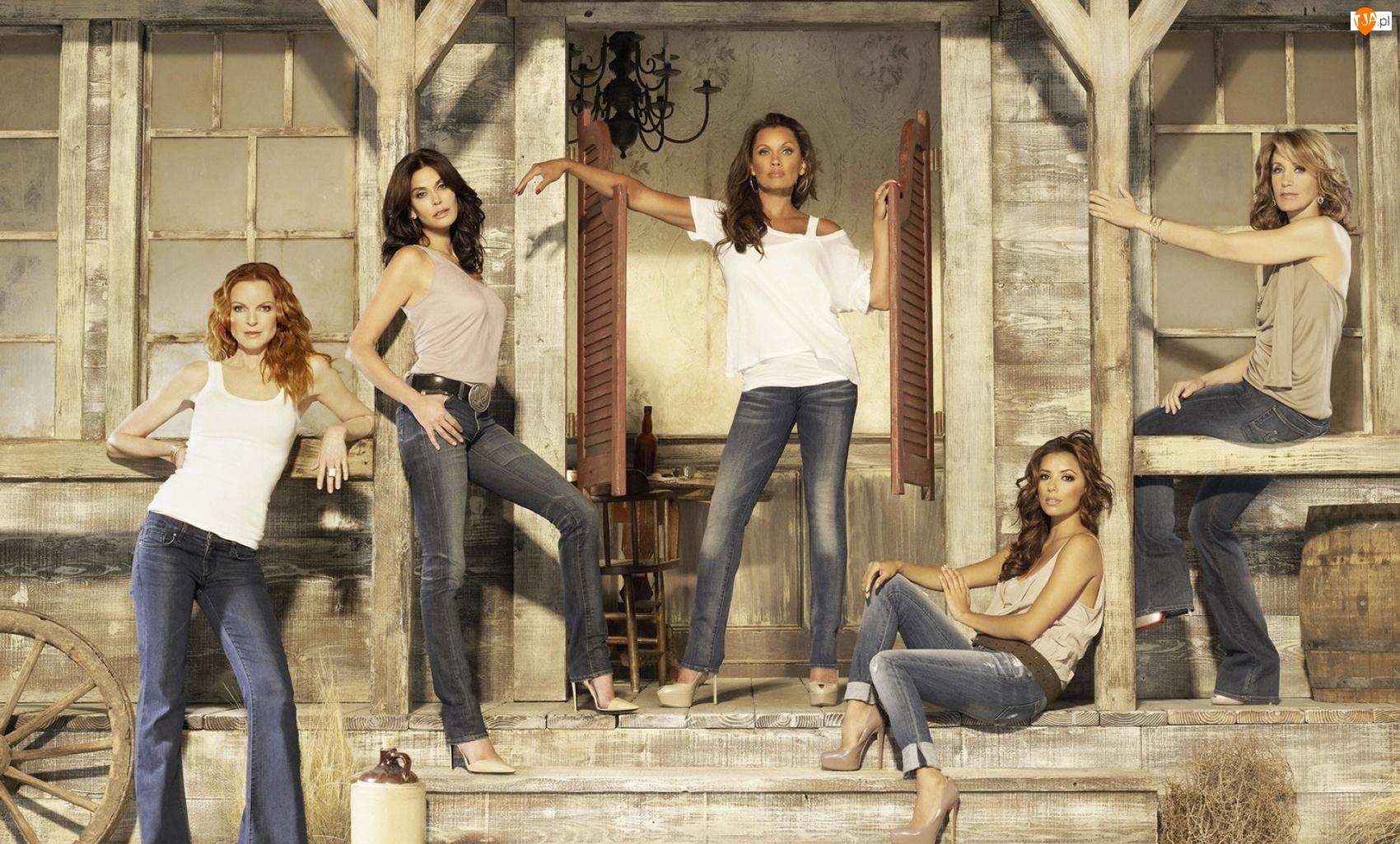 Gotowe na wszystko, Desperate Housewives, Felicity Huffman, Serial, Marcia Cross, Teri Hatcher, Eva Longoria
