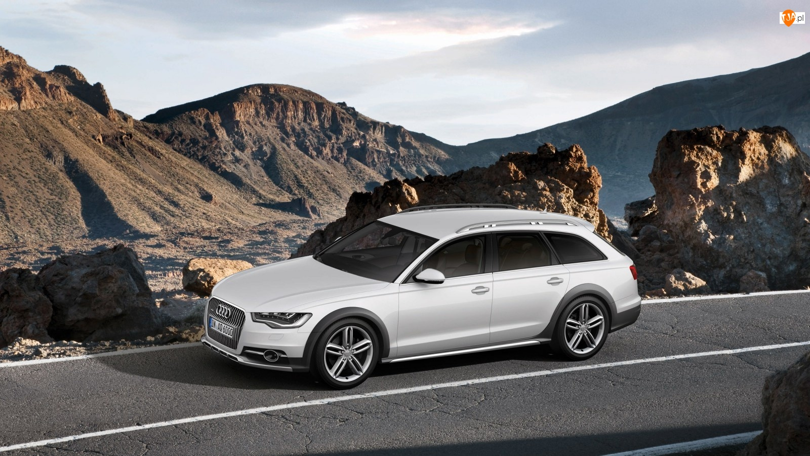 Audi A6, Góry, Allroad, Droga