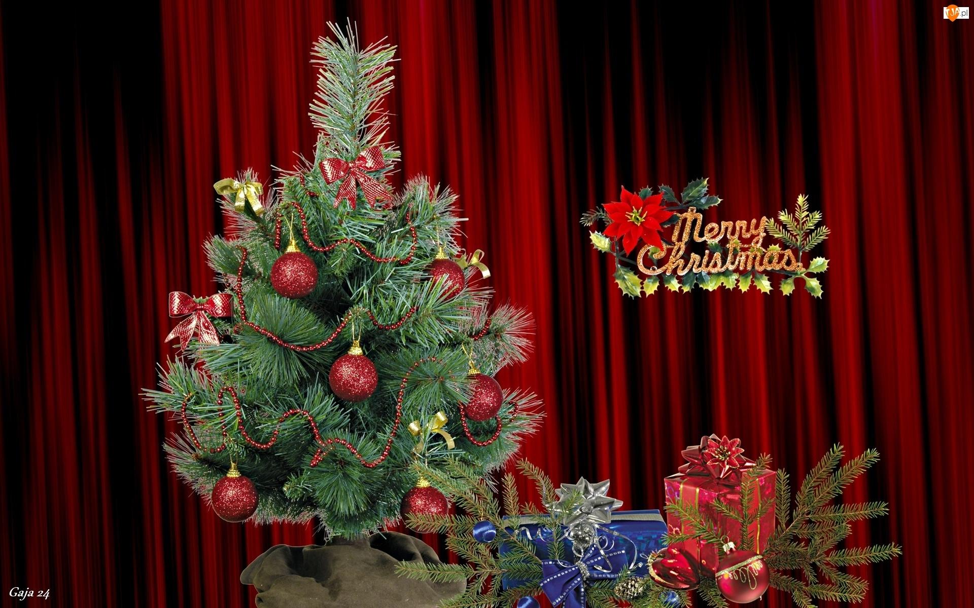 Święta, Choinka, Życzenia, Prezenty, Boże Narodzenie