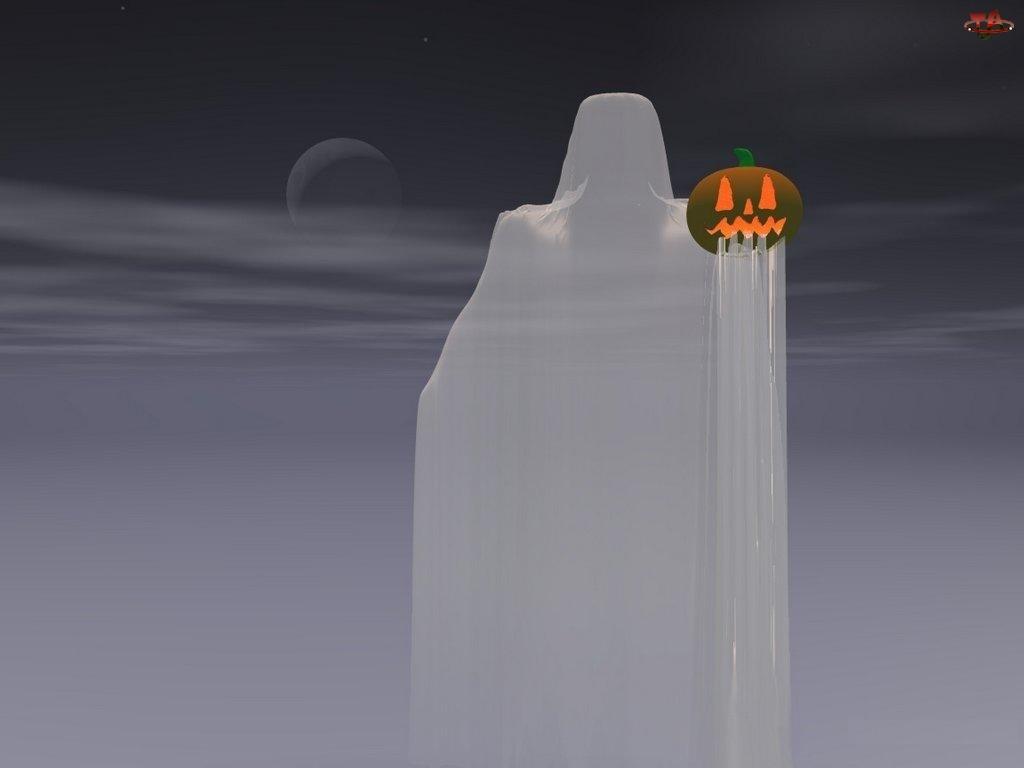 Halloween, zjawa z dynią