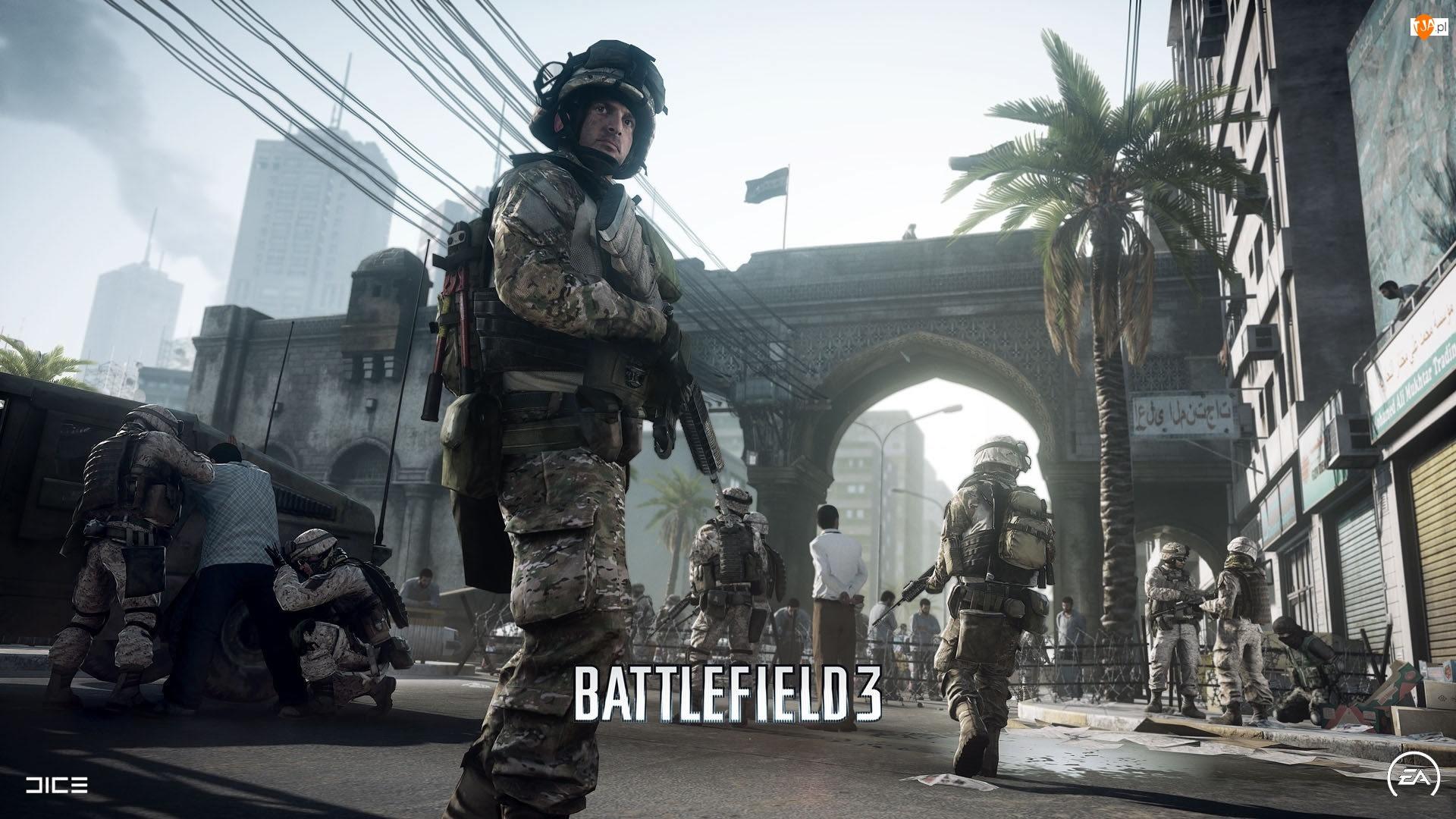 Battlefield 3, Ulica, Żołnierze, Broń