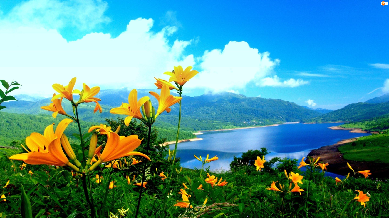 Lilie, Rzeka, Góry