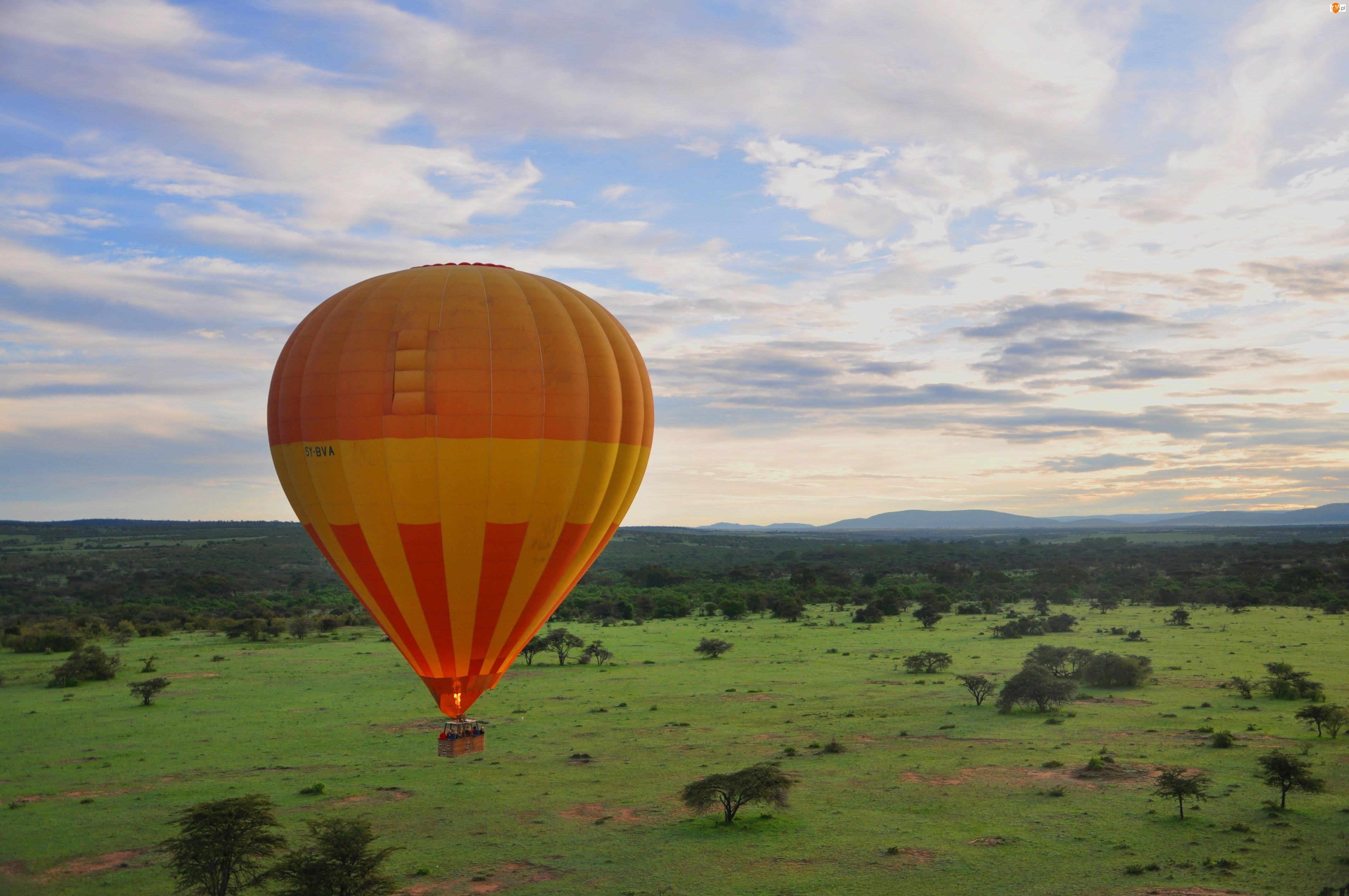 Balon, Krajobraz