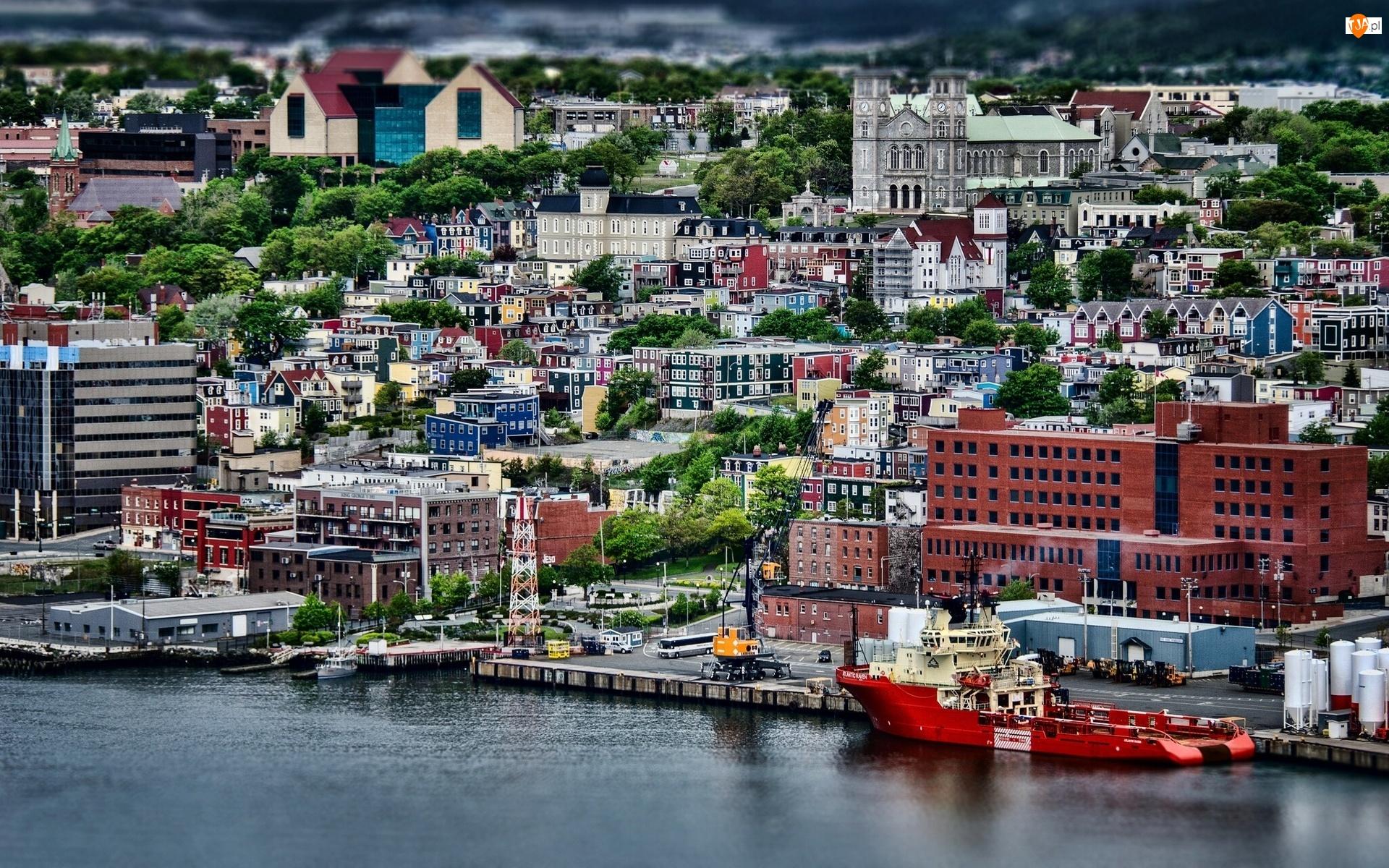 Miasto, Kanada, St Johns